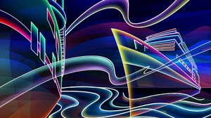 Artistic Neon 2560x1600 Wallpaper