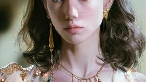 Artwork Women Brunette Necklace Dress J Won Han 1920x2791 Wallpaper