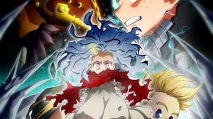 Mirio Togata Eri My Hero Academia Mirai Sasaki Overhaul My Hero Academia Kai Chisaki Izuku Midoriya 3008x2670 wallpaper