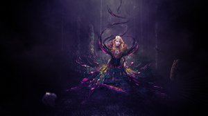 Colorful Fairy Girl Woman 4667x2941 Wallpaper