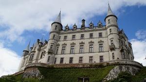 Architecture Castle Dunrobin Castle Scotland 5120x2880 Wallpaper