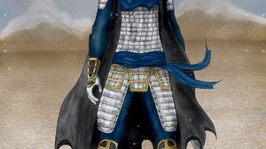 Anime Digital Art Drawing Japan Warrior Girls Warrior Katana Samurai Metalanguage Samurai Mujer Wome 1054x1695 Wallpaper