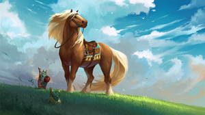 Epona The Legend Of Zelda 2700x1538 Wallpaper
