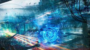 Sci Fi Artistic 2400x968 Wallpaper