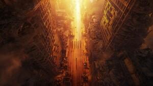 Post Apocalyptic Wasteland 3 3840x2053 Wallpaper