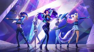 Ahri League Of Legends Akali League Of Legends Evelynn League Of Legends K Da Kai 039 Sa League Of L 3840x2167 Wallpaper