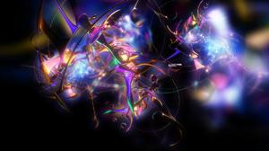 3D Abstract 3D Purple 1680x1050 Wallpaper