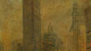 Artwork Painting Brown 2722x4260 Wallpaper