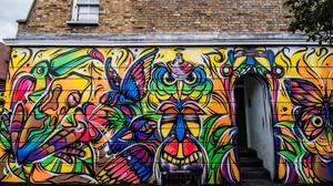 Artistic Building Colorful Colors Graffiti 5456x3632 Wallpaper