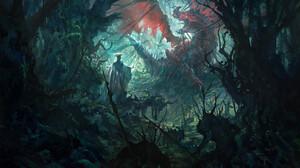 Concept Art Forest 1920x1171 wallpaper