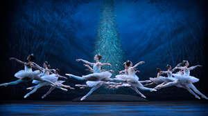 Ballet Christmas Tree Colosseum London England Women Blue Dancer 4183x2353 Wallpaper