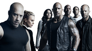 Charlize Theron Dwayne Johnson Jason Statham Ludacris Michelle Rodriguez The Fate Of The Furious Tyr 3840x2160 Wallpaper