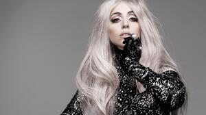 American Lady Gaga Long Hair Singer White Hair 3840x2400 wallpaper