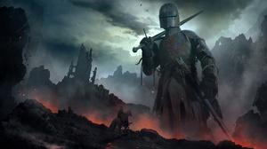 Armor Giant Knight Sword Warrior 1920x1080 Wallpaper