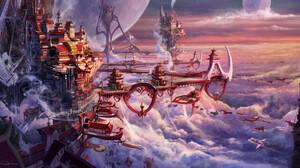 City Cloud 2500x1340 Wallpaper