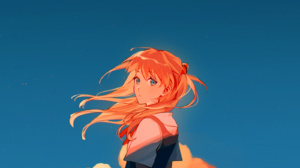 Anime Anime Girls Neon Genesis Evangelion Asuka Langley Soryu Portrait Display Bicycle 1600x2200 Wallpaper