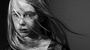 Woman Girl Face Black Amp White 2024x1346 Wallpaper