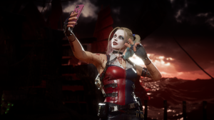 Mortal Kombat 11 Cassie Cage Harley Quinn Video Game Characters Video Game Girls Video Games Screen  1920x1080 Wallpaper