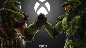 Halo DOOM Eternal Xbox 1920x1080 Wallpaper
