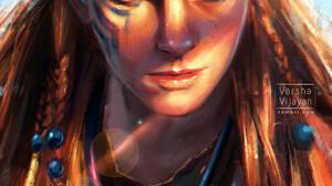 Horizon Zero Dawn Aloy Horizon Zero Dawn Game Art Concept Art Character Design Portrait 1080x1437 Wallpaper