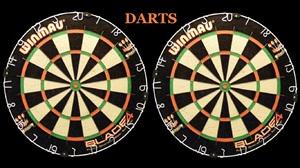 Dart Board Dartboard Darts 1366x768 wallpaper
