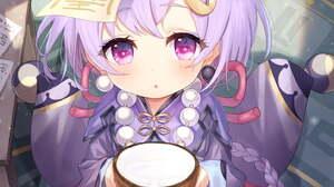 Genshin Impact Qiqi Genshin Impact Video Game Art Video Game Characters Video Game Girls Video Games 1447x2047 Wallpaper
