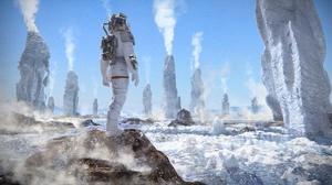 Sci Fi Astronaut 1920x1080 wallpaper