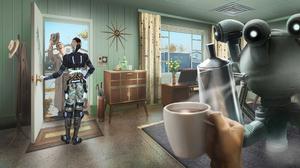 Mass Effect Jack Mass Effect Crossover Fallout 4 2000x1109 Wallpaper