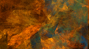 Abstract Apophysis Software Fractal Geometry Lines 1920x1080 Wallpaper