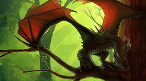 Fantasy Dragon 1920x1080 wallpaper