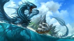 Dragon Monster Creature 1920x1080 Wallpaper
