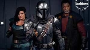 The Mandalorian Star Wars Mandalorians The Mandalorian Character TV Series Science Fiction Black Hai 2000x1333 Wallpaper