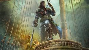 Gun Man Pirate Sword 2048x1380 Wallpaper