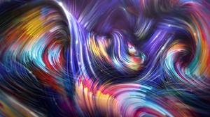 Artistic Digital Art Shapes 2880x1800 Wallpaper