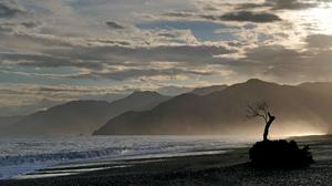New Zealand Ocean Coast Nature 2048x1123 Wallpaper