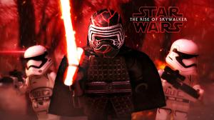 Kylo Ren Star Wars The Rise Of Skywalker Stormtrooper 2560x1440 Wallpaper