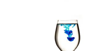 Blue Colors Ink 1280x1024 Wallpaper