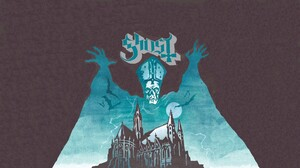 Ghost B C Band Metal Music Music Artwork Cover Art Rock Bands Psychedelic Rock Rock Music Blue Gray 1920x1080 Wallpaper