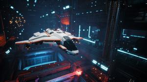 Everspace Hangar Spaceship 1920x1080 wallpaper
