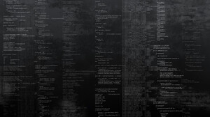 Code Greyscale Pattern 1920x1200 wallpaper