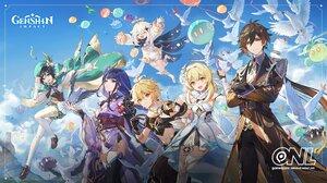 Anime Anime Games Video Games Anime Girls Genshin Impact Anime Boys Video Game Characters Video Game 1920x1080 Wallpaper