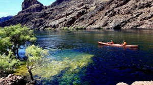 Arizona Boat Canyon Kayak Outdoor River Rock 2048x1365 wallpaper