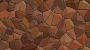 Brown Mosaic Pattern Texture 3000x2000 Wallpaper