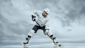Hockey Man 4500x3000 Wallpaper