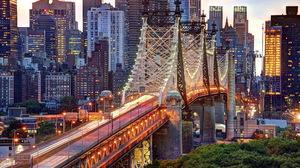 New York Queensboro Bridge Manhattan 1920x1200 Wallpaper