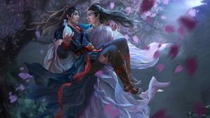 Lan Wangji Lan Zhan Wang Yibo Wei Wuxian Wei Ying Xiao Zhan 1920x1504 Wallpaper