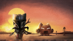 Star Wars The Mandalorian Character 3840x2628 Wallpaper
