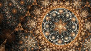 Artistic Digital Art Fractal Pattern 3840x2160 Wallpaper