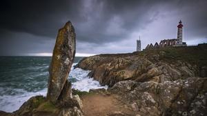Man Made Lighthouse 2048x1367 wallpaper