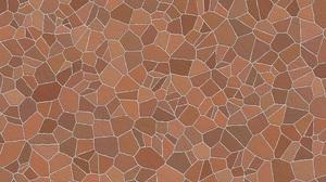 Brown Mosaic Pattern 3840x2160 Wallpaper